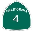 Bord Route 4 California